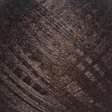 Слонимская пряжа Темный Коричневый (шерсть/ ПАН)