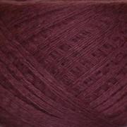 Слонимская пряжа Бордовый (хлопок/ ПАН)