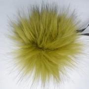 Помпон (искусственный мех) 018 Оливка