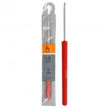Крючок вязальный PONY 2,50мм с пластиковой ручкой