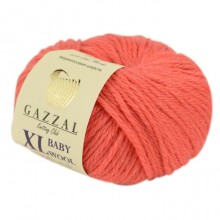 Gazzal BABY WOOL XL (Газзал Бэби Вул ХЛ) 819 Коралл