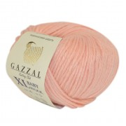 Gazzal BABY WOOL XL (Газзал Бэби Вул ХЛ) 834 Персик