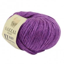 Gazzal BABY WOOL XL (Газзал Бэби Вул ХЛ) 815 Орхидея