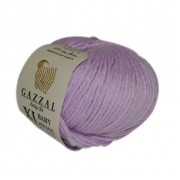 Gazzal BABY WOOL XL (Газзал Бэби Вул ХЛ) 823 Сирень