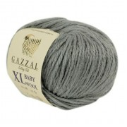 Gazzal BABY WOOL XL (Газзал Бэби Вул ХЛ) 818 Серый