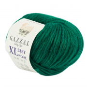 Gazzal BABY WOOL XL (Газзал Бэби Вул ХЛ) 814 Зелень