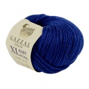 Gazzal BABY WOOL XL (Газзал Бэби Вул ХЛ) 802 Синий