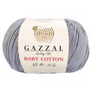 Gazzal BABY COTTON (Газзал Бэби Коттон) 3430 Серый