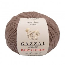 Gazzal BABY COTTON (Газзал Бэби Коттон) 3434 Какао